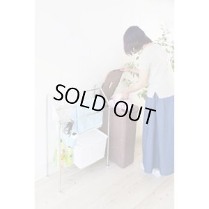 画像4: ランドリーボックス/アミー/薄型/ブラウン/洗濯カゴ/東谷(AZUMAYA)